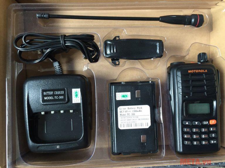 Trộn bộ sản phẩm Máy bộ đàm Motorola GP-900 Plus