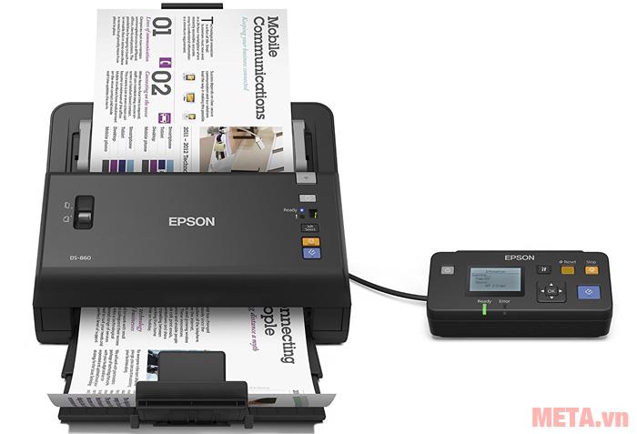 Máy scan DS-860 có tốc độ scan 65 trang/phút