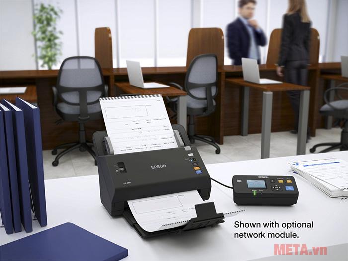 Máy scan DS-860 phù hợp với nhu cầu sử dụng tại văn phòng