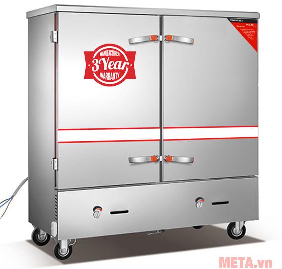 Tủ nấu cơm công nghiệp 24 khay gas và điện TCGD-24