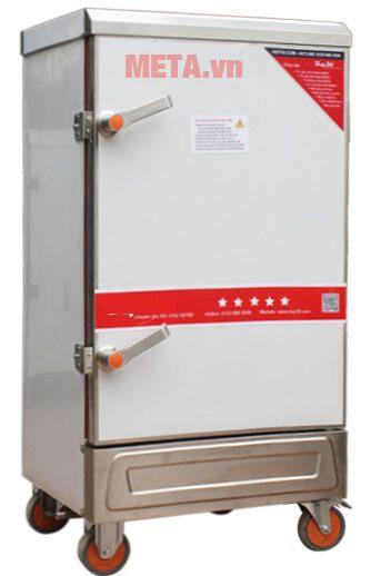 Tủ nấu cơm công nghiệp 10 khay dùng điện TCD-10