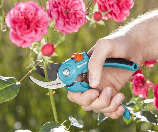 Kéo cắt cành cổ điển Gardena 08857-20 sử dụng để cắt cành hoa