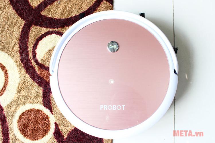 Robot hút bụi lau nhà thông minh Probot Nelson A3 có màu hồng đẹp mắt
