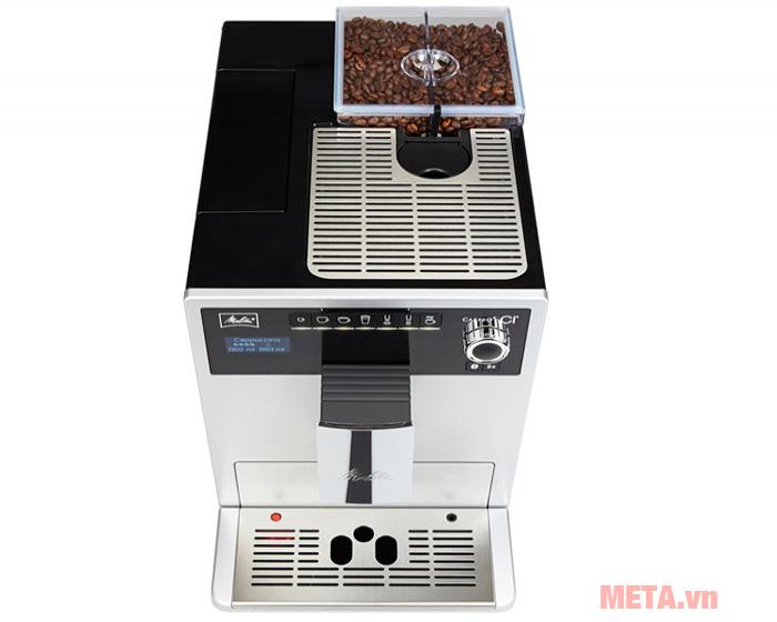Máy pha cà phê tự động Melitta CI Touch có khả năng pha 10 loại cà phê khác nhau