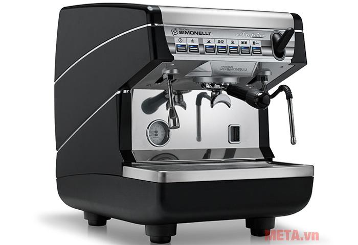 Máy pha cà phê Nuova Simonelli Appia II 1 group có thiết kế đẹp mắt