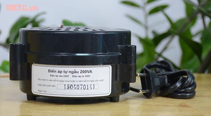 Công suất phù hợp để hạ nguồn cho thiết bị điện gia đình