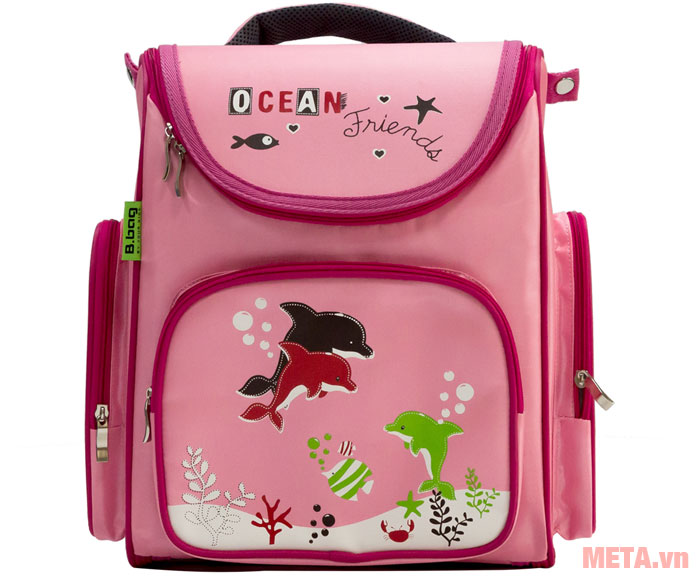 Hình ảnh Ba lô chống gù Ocean Friends