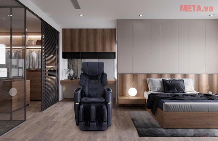 Ghế massage trong phòng ngủ