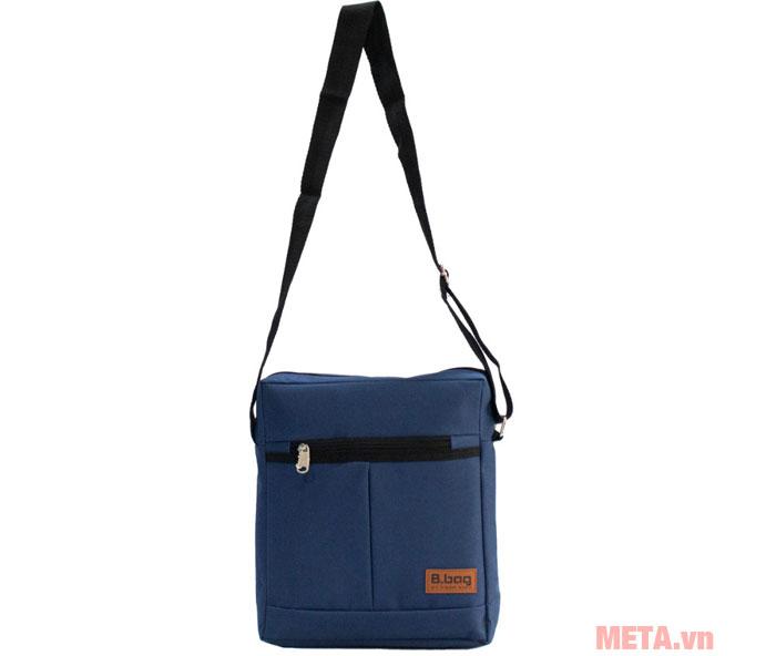 Hình ảnh túi đeo chéo màu xanh