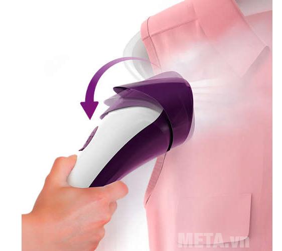 Bàn ủi hơi giúp quần áo phẳng nhanh chóng