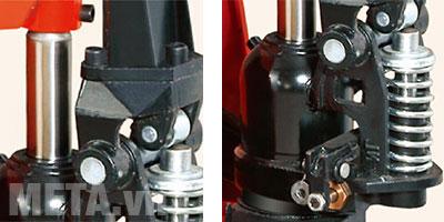 Xe nâng tay thấp Niuli CBY-DF20S có van giảm áp giảm tình trạng nâng quá tải