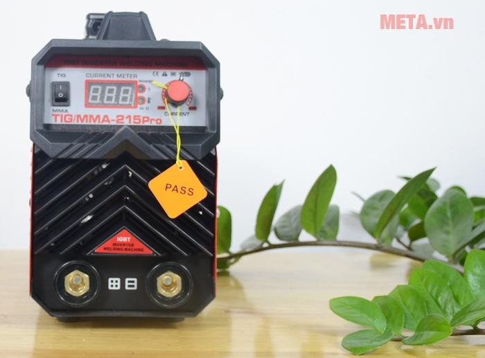 Máy hàn inverter Btec TIG/MMA 215 Pro