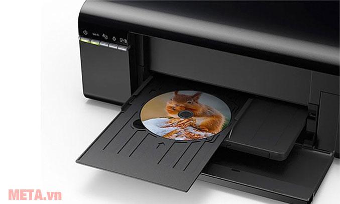 Máy có khả năng in lên đĩa CD