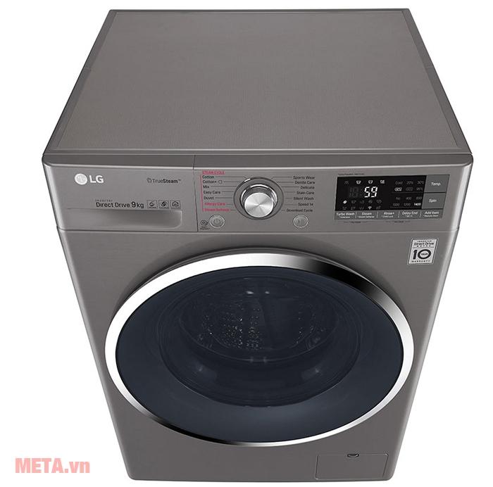 Công nghệ giặt 6 Motion DD - Mô phỏng giống như thao tác giặt đồ bằng tay