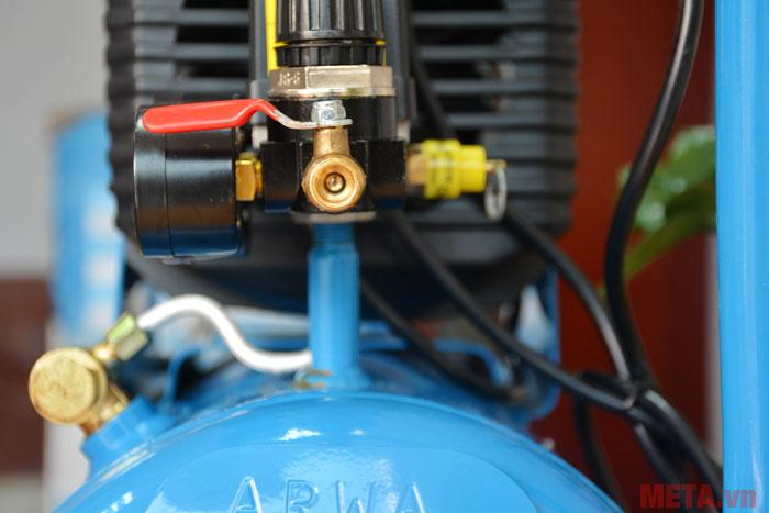 Đầu khí ra của máy nén khí