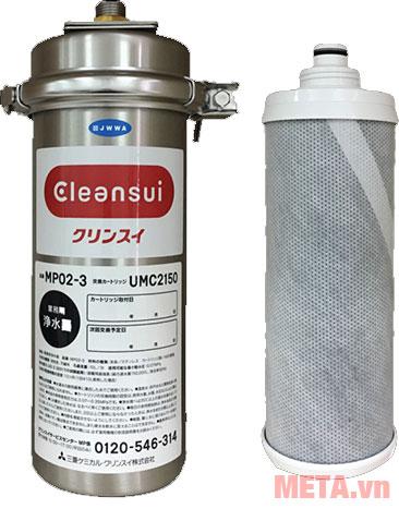 Thiết bị lọc nước thương mại Cleansui MP02-3