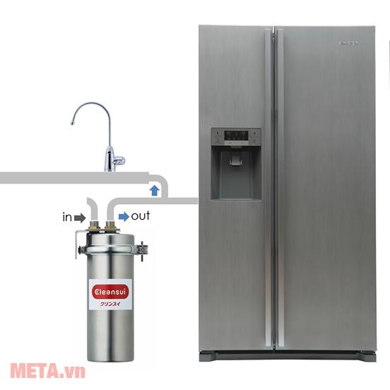 Thiết bị lọc sử dụng để lọc nước sinh hoạt