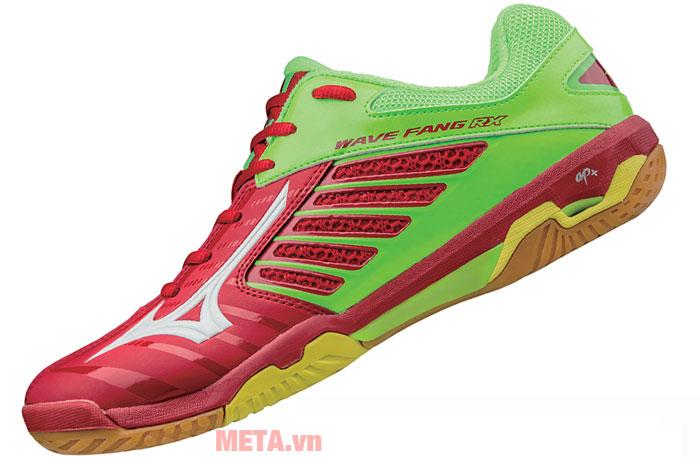 Giày cầu lông WAVE FANG RX2 màu xanh - đỏ