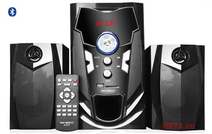 Loa vi tính Soundmax A970 có khả năng kết nối bluetooth không dây tiện lợi
