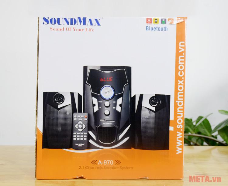 Hộp đựng loa vi tính Soundmax A970