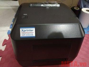 Máy in mã vạch XP-H500B có thiết kế nhỏ gọn