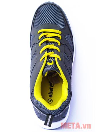 Giày thể thao Ebet EB123 màu ghi vàng