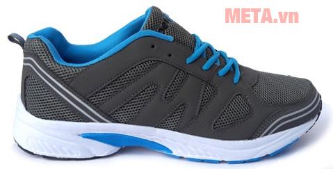 Giày chạy bộ Ebet EB123 ghi xanh dương