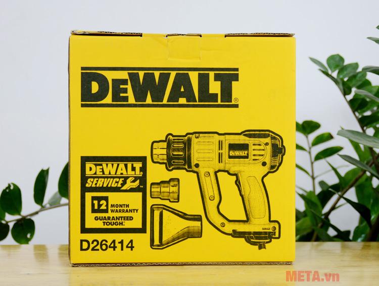 Hộp đựng máy thổi hơi nóng 2.000W DeWALT D26414