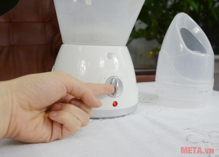 Núm vặn máy xông hơi mặt