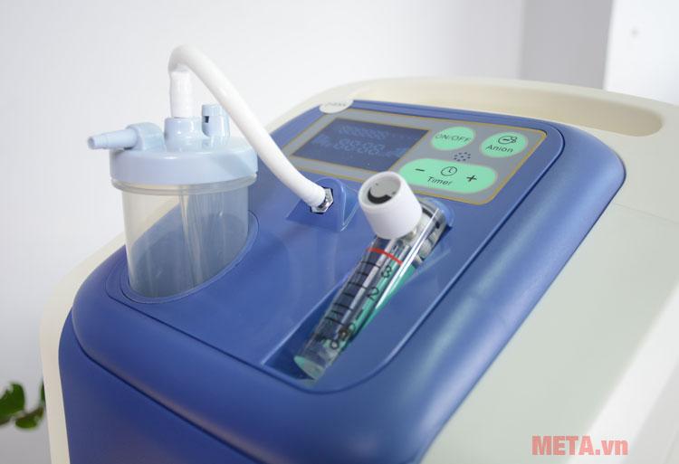 Bảng điều khiển của máy tạo oxy Owgels