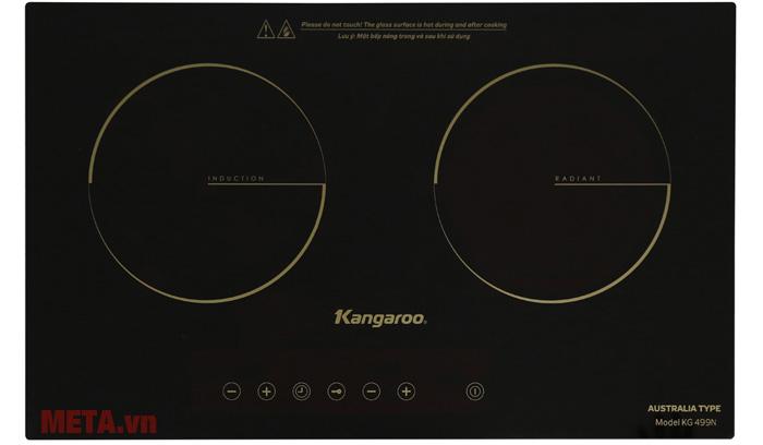Hình ảnh bếp đôi điện từ hồng ngoại Kangaroo KG499N