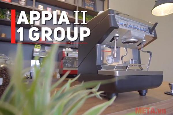 Máy pha cà phê Nuova Simonelli Appia II 1 group phù hợp với quán cà phê