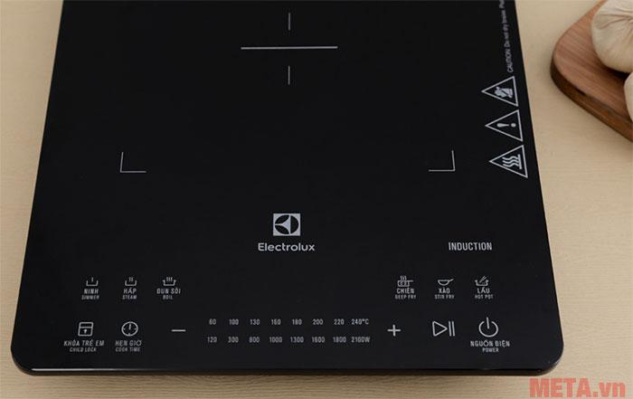 Bếp điện từ Electrolux ETD42SKA nấu ăn nhanh chóng hơn với công suất 2.100W