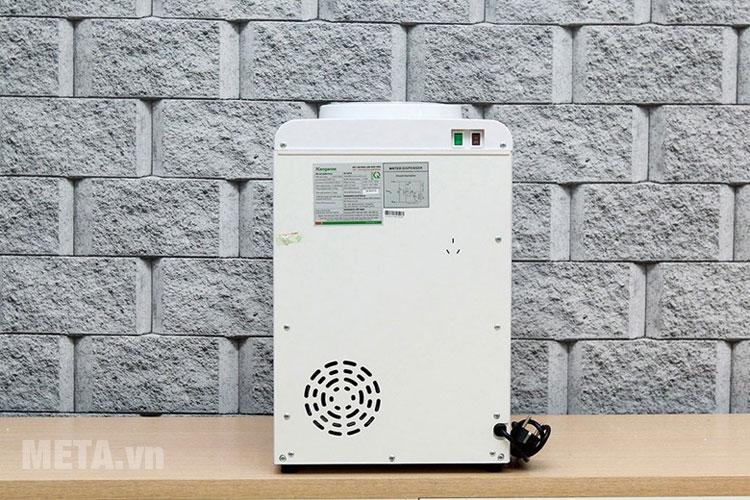 Quạt thông gió của máy làm nước nóng lạnh
