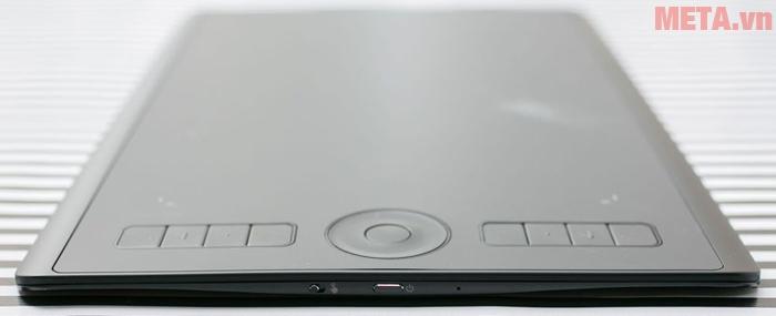 Thiết kế bảng vẽ Bảng vẽ máy tính điện tử Wacom Intuo Pro Paper Medium PTH-660 thanh mỏng, trọng lượng nhẹ, chất liệu bền bỉ