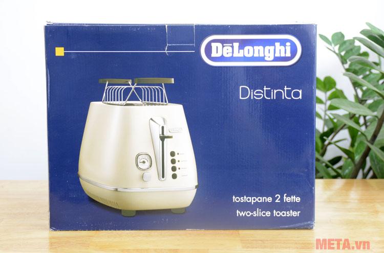 Hộp đựng lò nướng bánh mì Delonghi Distinta CTI 2103.W