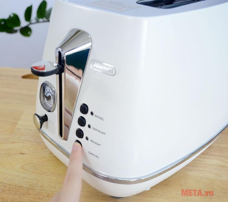 Các nút chức năng ngay phía trước máy dễ dàng sử dụng