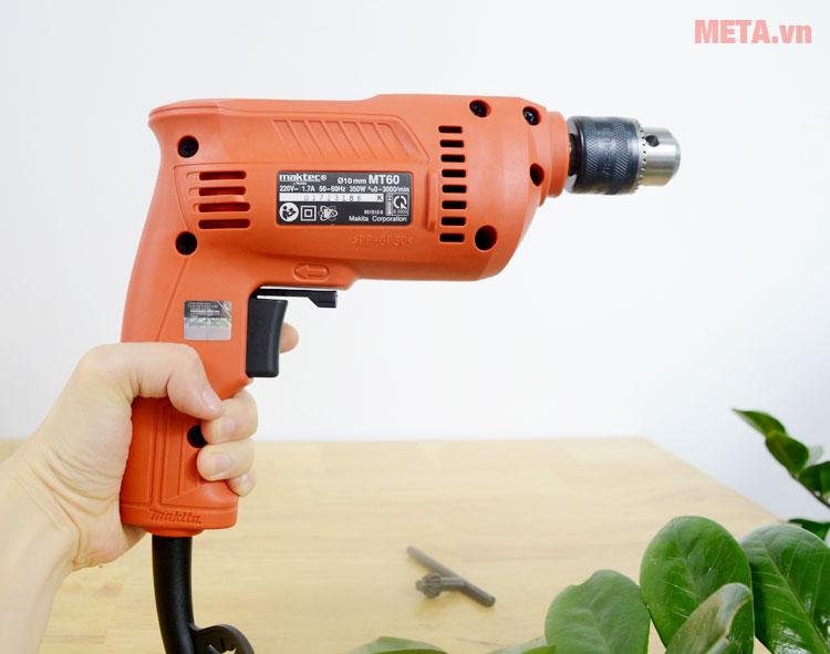 Thiết kế máy khoan Maktec MT60