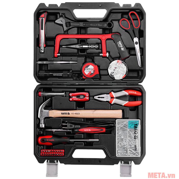 Hình ảnh bộ dụng cụ sửa chữa tổng hợp YATO 169 món YT-39291