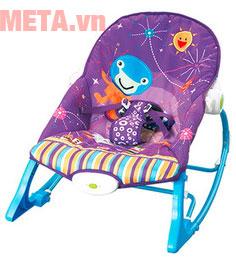 Ghế rung cho bé màu tím