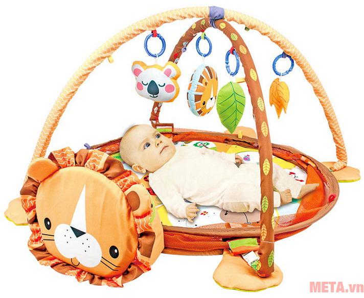 Thảm nằm chơi cho trẻ em
