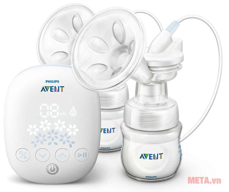 Máy hút sữa bằng điện đôi Avent 303.01