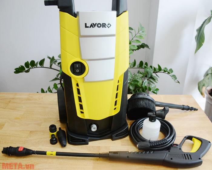 Các phụ kiện của máy có thể dễ dàng tháo rời dễ dàng