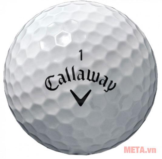 Bóng golf Callaway giảm độ xoáy tối đa