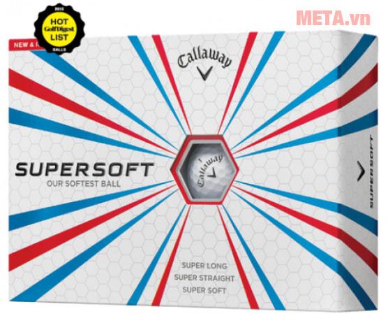 Bóng golf Callaway Supersoft 12B PK