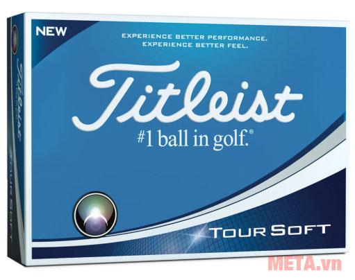 Bóng golf Titleist TT18 Tour Soft DZ T4011S