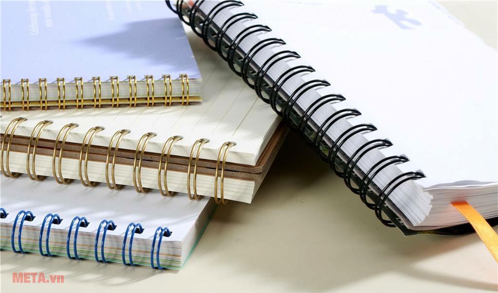 Máy đóng sách giúp đóng tài liệu gọn gàng