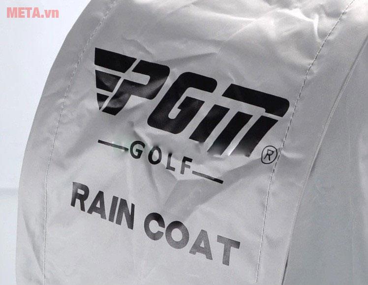 Túi áo che mưa có in logo PGM