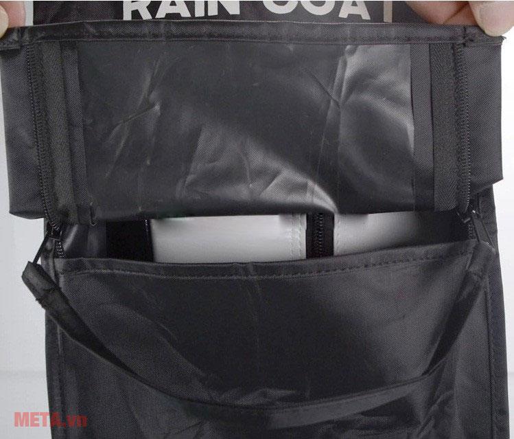 Túi áo che mưa có chất liệu cao cấp