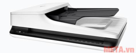 Máy quét có thiết kế nhỏ gọn phù hợp với nhu cầu sử dụng tại văn phòng